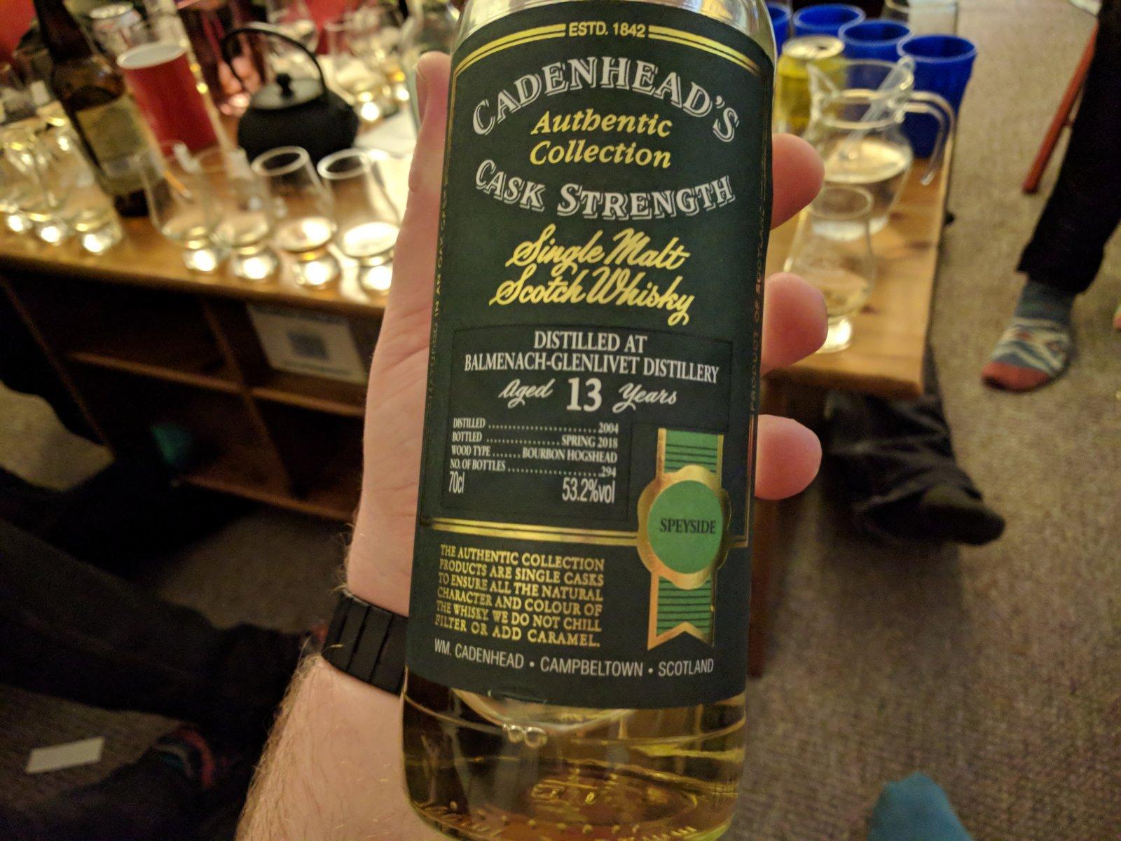 Cadenhead's Balmenach 13yo Review - Southside Whisky Club